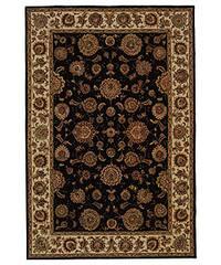 Safavieh Handmade Legends Plum/ Ivory Wool and Silk Rug - 5' x 8'