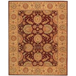 Safavieh Handmade Persian Court Jewel Red Wool and Silk Rug (6' x 9')