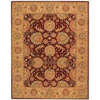Safavieh Handmade Persian Court Jewel Red Wool and Silk Rug - 6' x 9'