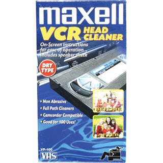 Maxell VP-100 VHS Head Cleaner (Dry)
