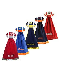 NCAA College Team Logo Snuggleball & Security Blanket - Thumbnail 0