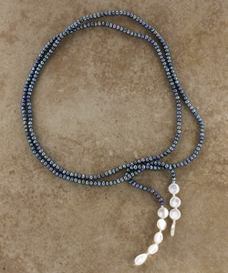 Freshwater Pearl Necklace (Israel) - Thumbnail 0