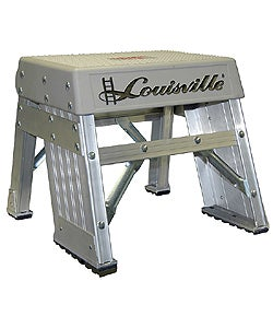Shop 1 Foot Aluminum Step Stool 300 Pound Rating Free
