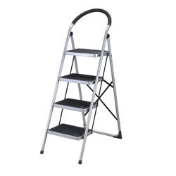 Shop Four Step Foldable Kitchen Ladder Free Shipping