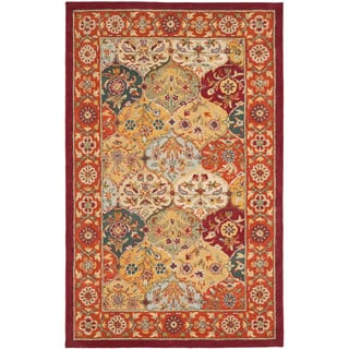 Safavieh Handmade Heritage Traditional Bakhtiari Multi/Red Wool Area Rug (3' x 5')