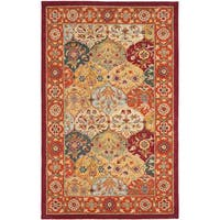Safavieh Handmade Heritage Traditional Bakhtiari Multi/Red Wool Area Rug - 3' x 5'
