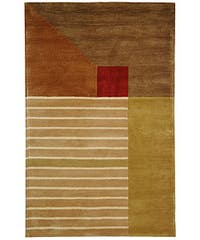 Safavieh Handmade Rodeo Drive Modern Abstract Multicolored Wool Rug - Assorted - 6' x 9'