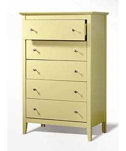 Kylie Green 5 Drawer Chest Overstock 2933726