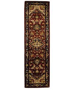 Safavieh Handmade Classic Herize Red Wool Runner (2'3 x 8')