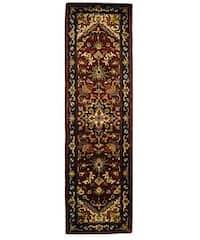 """Safavieh Handmade Classic Herize Red Wool Runner Rug - 2'3"""" x 8'"""