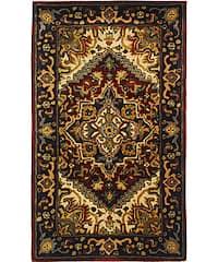 Safavieh Handmade Classic Heriz Red Wool Rug - 3' x 5'