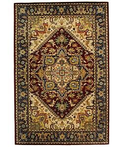 Safavieh Handmade Classic Herize Red Wool Rug (6' x 9')