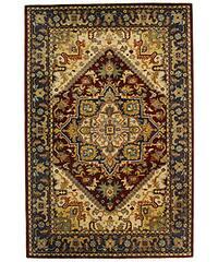 Safavieh Handmade Classic Herize Red Wool Rug - 6' x 9'