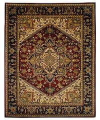 Safavieh Handmade Classic Heriz Red Wool Rug - 9'6 x 13'6