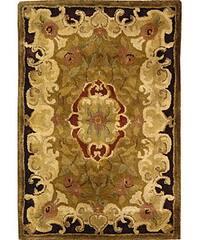 Safavieh Handmade Classic Juliette Gold Wool Rug - 2' X 3'