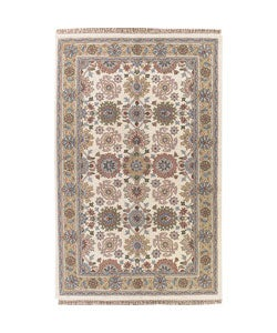 12df0d53d0f2 Hand-tufted Alka Ivory Wool Rug (5' x 8') | Overstock.com Shopping - The  Best Deals on Area Rugs