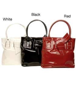 366c668dc4c Shop Tommy Hilfiger Saratoga Patent Tote - Free Shipping On Orders ...