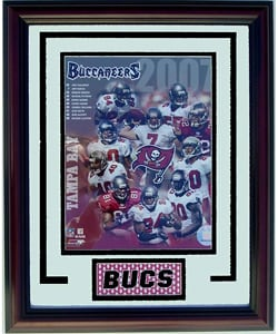 Tampa Bay Buccaneers Deluxe Frame - Thumbnail 0