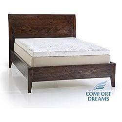 Thumbnail 1, Comfort Dreams 14-inch Pillow Top Full Size Memory Foam Mattress.