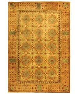 Safavieh Handmade Classic Antiquity Coral Wool Rug - 5' x 8' - Thumbnail 0