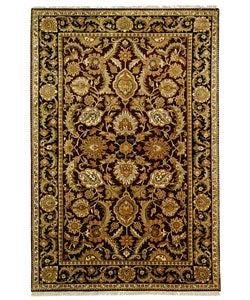 Safavieh Hand-knotted Burgundy/ Black Treasures Wool Rug (6' x 9')