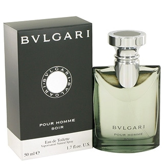 Bvlgari Pour Homme Soir Men's 1-ounce Eau de Toilette Spray