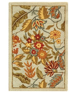 Safavieh Handmade Paradise Light Blue Wool Rug (1'8 x 2'6)