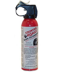 Counter Assault 8.1-ounce Bear Deterrent Pepper Spray - Thumbnail 0