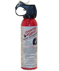 Counter Assault 8.1-ounce Bear Deterrent Pepper Spray
