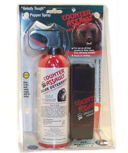 10.2-oz Counter Assault Bear Spray with Holster