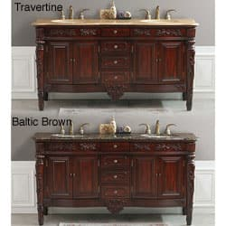 Othella 67 Inch Double Sink Bathroom Vanity Overstock 3057769