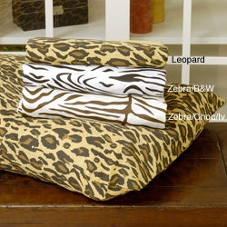 Regal Animal Print 300 Thread Count Cotton Pillowcases (Set of 2) - Thumbnail 0