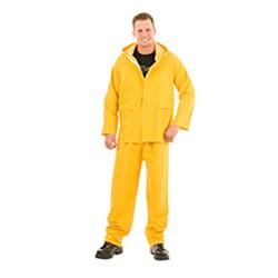 PVC Yellow Rainsuit - Thumbnail 0