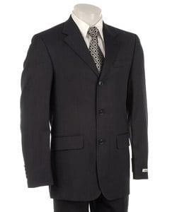 Thumbnail 1, Kenneth Cole New York Men's Blue Stripe Wool Suit.
