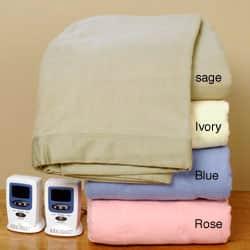 Shop Royal Velvet Warming Electric Blanket Overstock 3102900