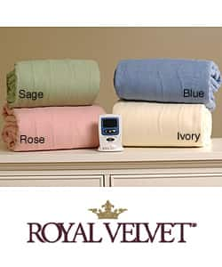 Shop Royal Velvet Warming Electric Blanket Twin And Full