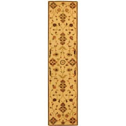 Safavieh Handmade Fable Cream New Zealand Wool Runner (2'3 x 8') - Thumbnail 0