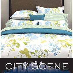 City Scene Eden Mini Duvet Cover Set - Thumbnail 0
