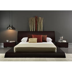 waverly modern 4 piece king size bedroom set free shipping today