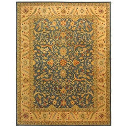 Safavieh Handmade Antiquities Mahal Blue/ Beige Wool Rug (9'6 x 13'6)