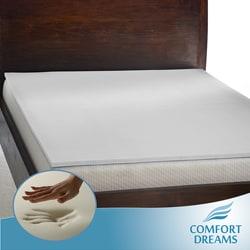 Shop Comfort Dreams Mem Cool 1 Inch Memory Foam Mattress