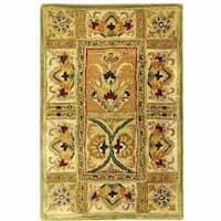 Safavieh Handmade Classic Empire Wool Panel Rug - 2' x 3'