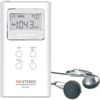Sangean DT-120 AM/FM Stereo Pocket Radio|https://ak1.ostkcdn.com/images/products/P11319838u.jpg?impolicy=medium