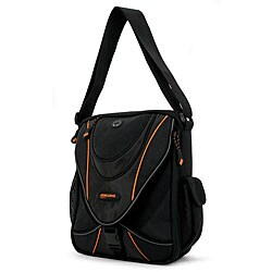 Mobile Edge - Mini Chromebook/Tablet Messenger - 9/13.3 - Black/Orange