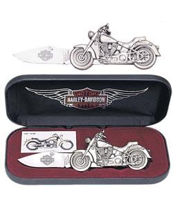 Harley-Davidson Fat Boy Motorcycle Knife - Thumbnail 0