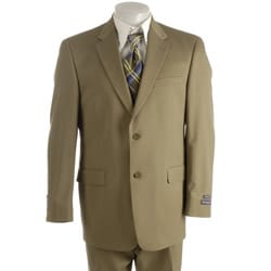 Thumbnail 1, Austin Reed London Men's British Khaki Solid Suit.