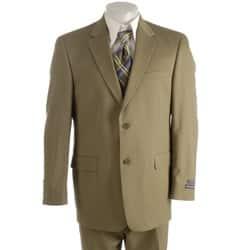 Austin Reed London Men S British Khaki Solid Suit Overstock 3259737