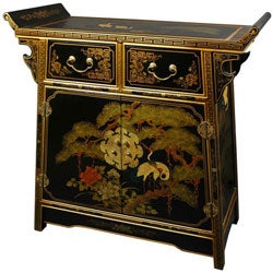 Handmade Lacquer Altar Cabinet (China)