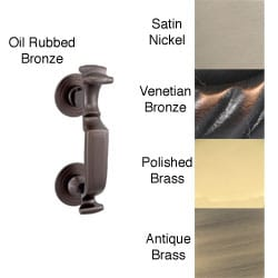 Allied Brass Traditional 8-inch Solid Brass Doctor Door Knocker