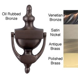 Allied Brass Traditional Style 8-inch Solid Brass Door Knocker